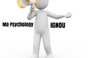 Ma Psychology IGNOU